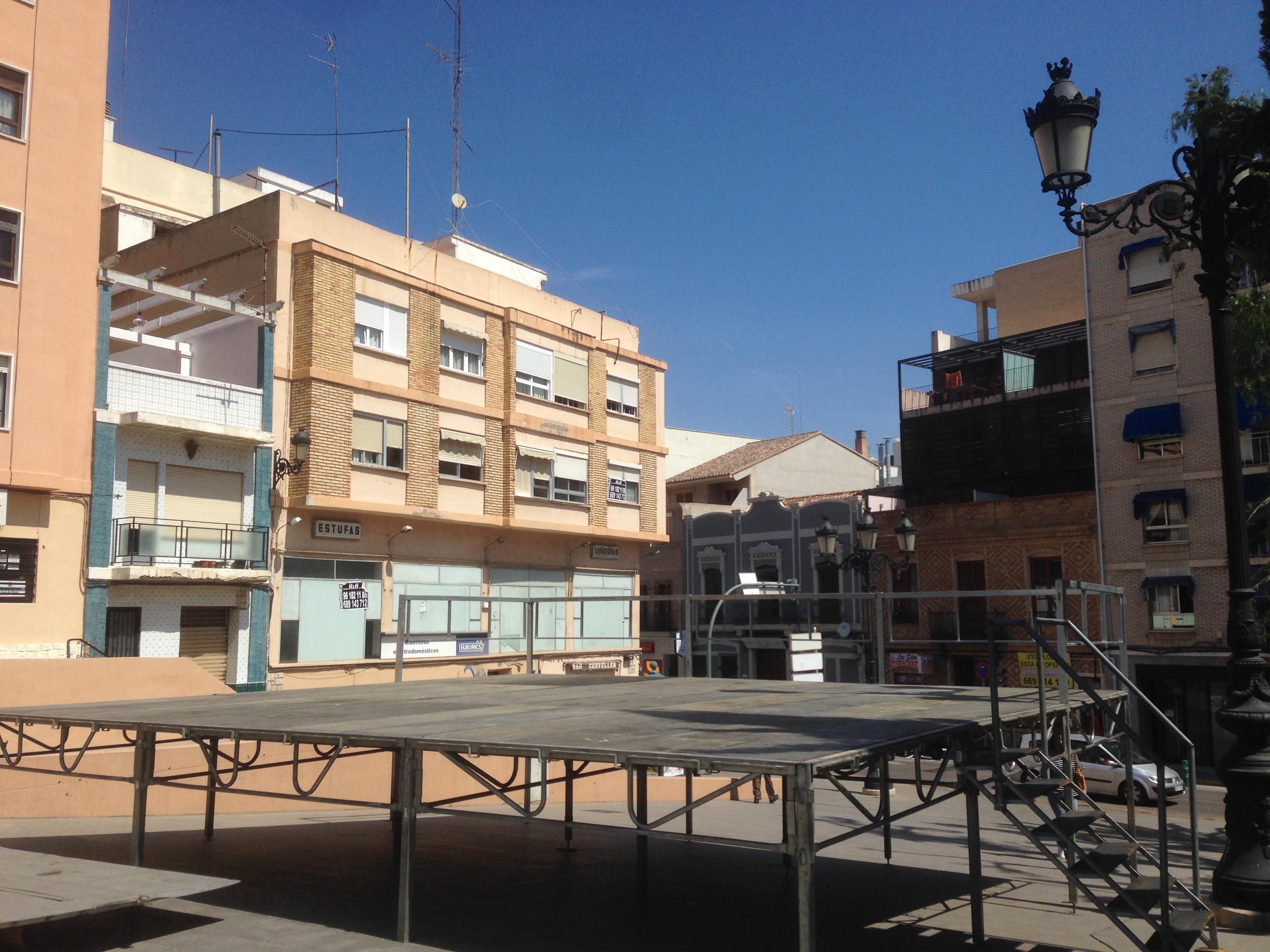 Escenario Emilio Castelar Burjassot 2015